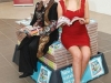 Tipp FM competition winner Nuala Molloy with Miss Tipperary Aisling Burke waiting to cut the ribbon to open the 40th Argos store, at the Showgrounds Shopping Centre in Clonmel, Tipperary. Picture: Jeff Harvey/HR Photo??*****SUPPLIED PICTURE - NO REPRODUCTION FEE*****