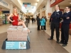 Security guards Emil Ivanov and Jim Kelly keep a watchful eye on Miss Tipperary Aisling Burke as she is pictured at the opening of the 40th Argos store in Ireland, at the Showgrounds Shopping Centre in Clonmel, Tipperary. Celebrating 15 years in Ireland this year, the Clonmel store opening is another milestone for Argos, and will create 25 new jobs for Tipperary. Picture: Jeff Harvey/HR Photo??*****SUPPLIED PICTURE - NO REPRODUCTION FEE*****