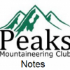 Thumbnail image for Peaks Mountaineering Club Notes 28.10.14