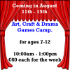 Thumbnail image for Arts, Crafts, Drama and Games Camp at The South Tipperary Arts Centre now taking bookings