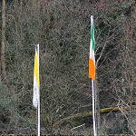 Raising of National and Papal Flags 170314-26