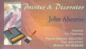 John Ahearne Painter & Decorator