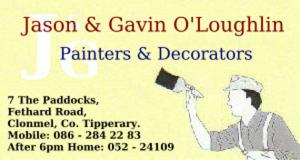 Jason & Gavin O'Loughlin Painters & Decorators