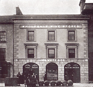 Gladstone Street, James White now Pavoni, Clonmel, Past