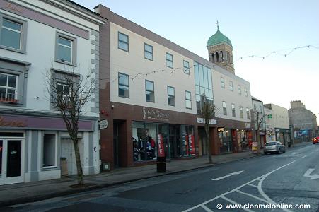 Gladstone Street, Ormonde Centre, Clonmel Present