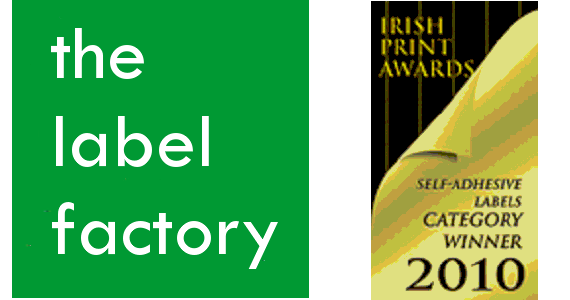 "Post image for ""The Label Factory"" winner in the Irish Print Awards"