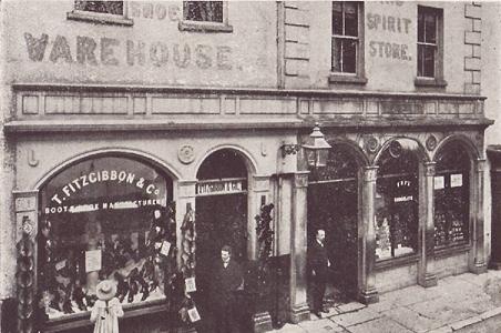 Mitchel Street T Fitzgibbon & Co, Clonmel Past