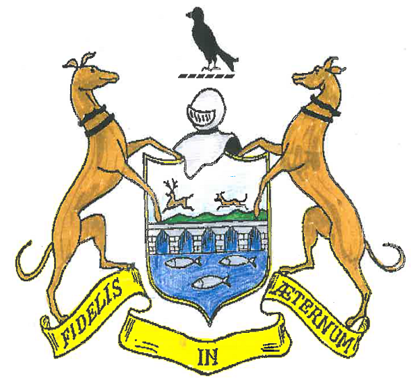Drawing of the Clonmel Coat of Arms