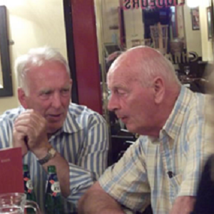 Michael Burke and Jerry Kelly on STAG's visit to Oxford July 2012