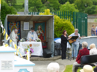 Annual Grotto Mass at Edel Quinn Shrine
