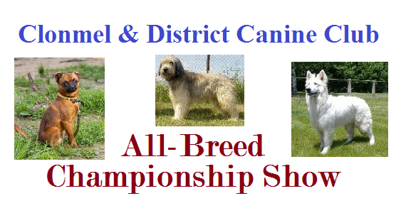 Clonmel & District Canine Club – All-Breed Championship Show 2014