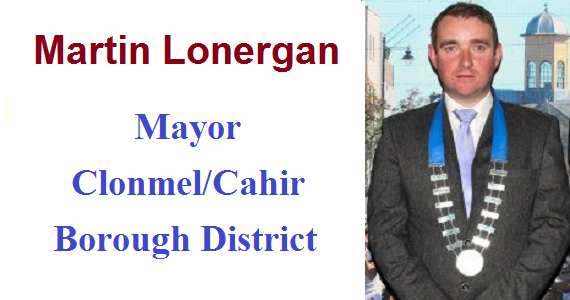 Statement by the Mayor of Clonmel/Cahir Borough District, Cllr. Martin Lonergan on the contract signing for the transfer of the former Kickham Army Barracks to Tipperary County Council