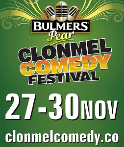Clonmel Comedy Festival 27th – 30th November