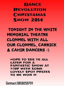 Dance Revolution Christmas Show 2014