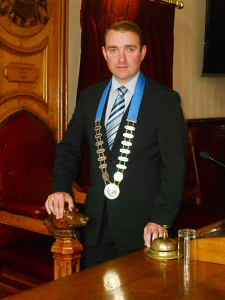 Christmas Message from the Mayor of Clonmel/Cahir Borough District, Cllr. Martin Lonergan