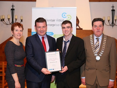 Clonmel Covers win Award at National Enterprise Awards County Competition