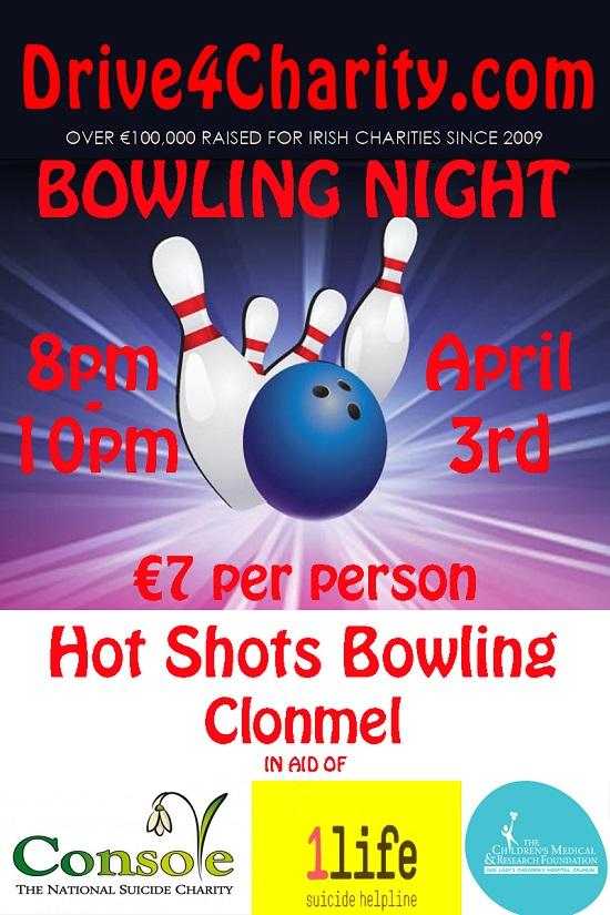 Charity Bowling Night at Hotshots Bowling @ Hotshots Bowling