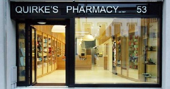 Quirke's Pharmacy nominated in the 2015 RIAI Awards Sustainability Category