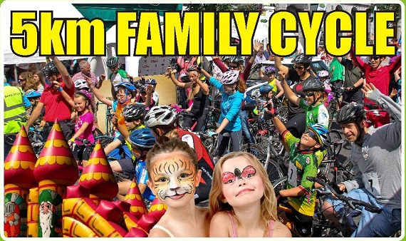 Suir Valley 3 Day 5km Family Spin & Sprocket Rocket Programme @ Clonmel