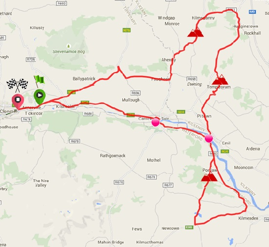Suir Valley 3 Day International Bike Race Stage 1 @ Clonmel