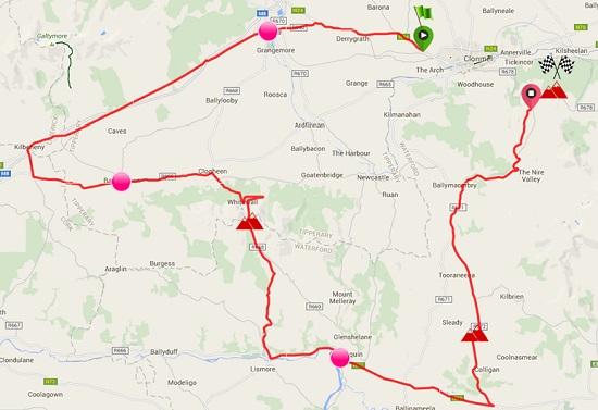 Suir Valley 3 Day International Bike Race Stage 4 @ Clonmel