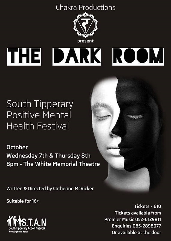 The Dark Room play during the South Tipperary Positive Mental Health Festival @ The White Memorial Theatre