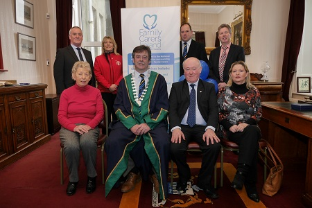 Launch of Family Carers Ireland launched in Town Hall