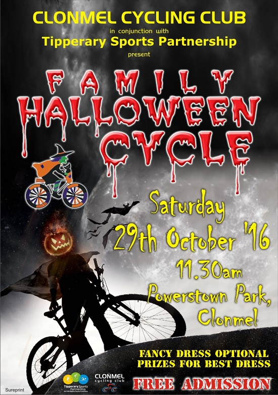 398d31d45 Clonmel Cycling Club present Family Halloween Cycle