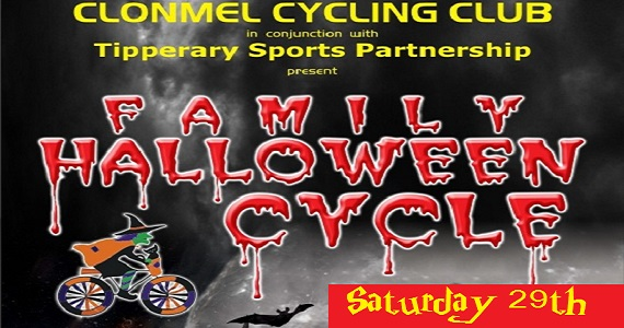 Clonmel Cycling Club present Family Halloween Cycle @ Powerstown Park