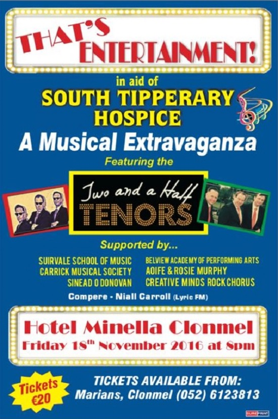thats-entertainment-in-aid-of-south-tipperary-hospice-poster-181116