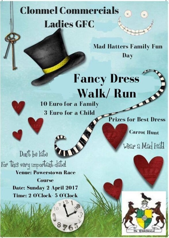 Clonmel Commercials Ladies GFC - Fancy Dress Walk / Run @ Clonmel Racecourse