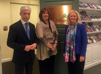 Post image for Tipperary delegation visits Tourism Ireland in New York