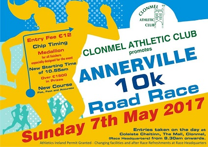 Post image for Sergiu Ciobanu wins Annerville 10K 2017 – Clonmel Athletic Club