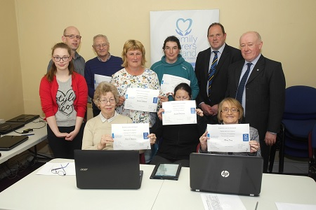 "Post image for ""DIGITAL SKILLS FOR CITIZENS"" with Family Carers Ireland Clonmel presentation of Certificates"