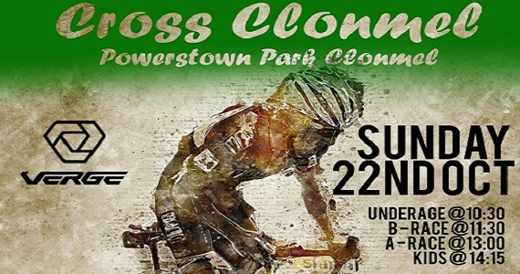 CycloCross is coming to Clonmel October 22nd with Clonmel Cycling Club