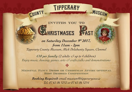 County Tipperary Museum 'Christmases Past' @ Tipperary County Museum