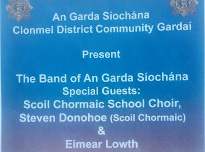 Garda Siochana Benefit Concert for C.A.R.E. Clonmel and Scoil Chormaic, Cashel @ Hotel Minella