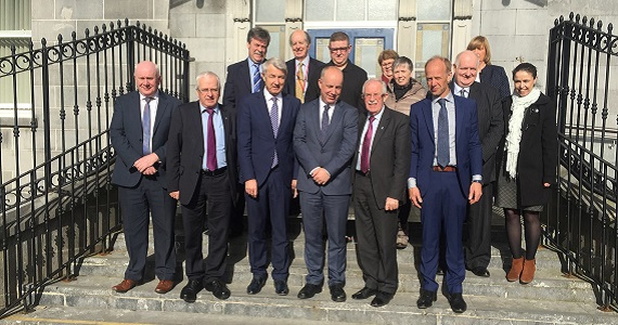 Minister of State Jim Daly T.D. visits Clonmel