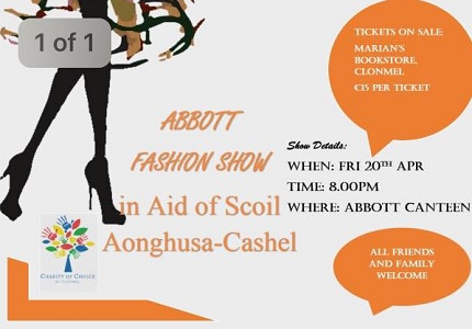 Abbott Fashion Show in Aid of Scoil Aonghusa Special School @ Abbott