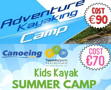 Kayaking Summer Camps – Tipperary Sports Partnership