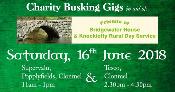 South Wind Trad & Folk Group Clonmel – Charity Busking Gigs