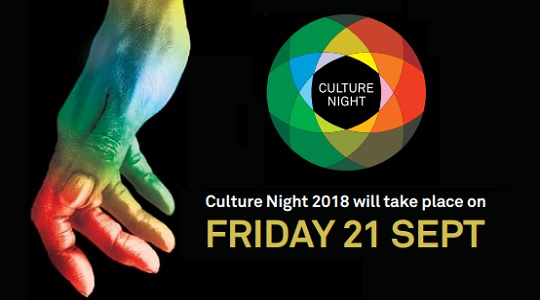 FREE Culture Night event for a great day and night out THIS FRIDAY the 21st September
