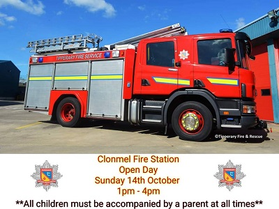 Clonmel Fire Station Open Day – 14th October