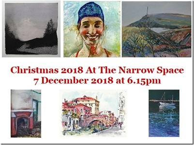 The Narrow Space Christmas 2018 Exhibition @ The Narrow Space