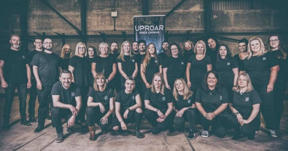 UpRoar Rock Chorus with local band The Waheys at Mulcahys, Brewery Bar @ Brewery Bar, Mulcahy's