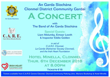 Clonmel Garda Concert Event 2018